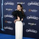 Olivia Sanabia – Posing at 'Onward' Premiere in Hollywood - 454 x 613