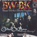 Jaska Raatikainen, Roope Latvala, Janne Wirman, Henkka Seppälä, Alexi Laiho - Brave Words And Bloody Knuckles Magazine Cover [Canada] (November 2005)