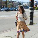 Isabel Lucas - at Silver Lake - 26/03/11