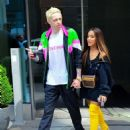Ariana Grande and Pete Davidson out in New York City
