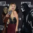 Annalynne McCord – Knott's Scary Farm Opening Night in Buena Park, CA 9/30/2016 - 454 x 360