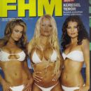 Yasmine Bleeth, Pamela Anderson, Carmen Electra - FHM Magazine Cover [Turkey] (May 2003)