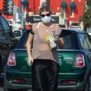 Mischa Barton – Spotted while shopping for goods in Los Angeles