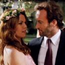 Lauren Graham and Scott Patterson in Gilmore Girls