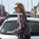 Eleanor Tomlinson – Shopping in Coventry