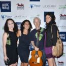 """Jill Seidner, Beth Brett, Robby Krieger and Emma Haber attend the Music Lifeboat Presents """"Make Noise: The Power of Music And Community"""" on June 7, 2015 in Hollywood, California."""