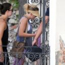 Scarlett Johansson laying out on a yacht with a mystery man in Taormina, Italy (July 9)