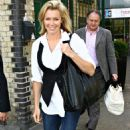 Nell McAndrew - LBC Radio Station In London, 19.06.2008.