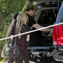 Avril and Chad at Los Feliz 28/06/2012