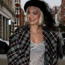Rita Ora – Leaving Radio 2 in London