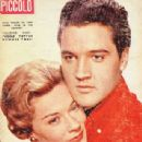 Elvis Presley and Hope Lange