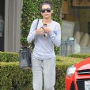 Naya Rivera Out and About In West Hollywood