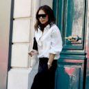 Victoria Beckham – Leaves her hotel in Paris - 454 x 738