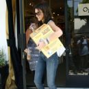 Jessica Alba - At A Children's Store In Beverly Hills Then Run Errands In L.A., 2010-06-18