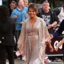 Chrissy Teigen – Arriving at the GQ Men of the Year Awards in London