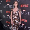 Jessica Stroup – 'Iron Fist' TV Series Premiere in New York - 454 x 717