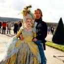 Alan Rickman and Beatie Edney as Marie Antoinette