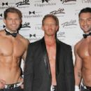 Ian Ziering debuts as new celebrity guest star of 'Chippendales Las Vegas' at Rio All Suite Hotel and Casino in Las Vegas - 454 x 303
