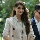 Sonam Kapoor Burberry Mens Fashion Show In London