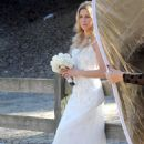 Brandi Glanville gives new meaning to the term 'blushing bride' as a series of  mishaps mar her bridal shoot - 454 x 665