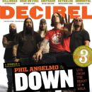 Phil Anselmo, Rex Brown, Kirk Windstein, Pepper Keenan, Jimmy Bower - Decibel Magazine Cover [United States] (October 2007)