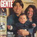 Nicolás Repetto, Florencia Raggi - Gente Magazine Cover [Argentina] (7 July 1999)