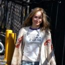 Olivia Wilde at the 'Life Itself' movie set in Staten Island - 454 x 664