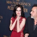 Eva Green and the Director Tim Burton attending the New York premiere of 'Miss Peregrine's Home for Peculiar Children' held at Saks Fifth Avenue in New York City, United States - Monday 26th September 2016 - 454 x 607