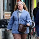 Melissa McCarthy – Filming 'The Kitchen' in NYC - 454 x 742