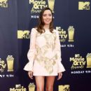 Aubrey Plaza – MTV Movie and TV Awards 2018 in Santa Monica