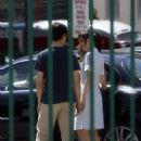 Zooey Deschanel - Set Of '500 Days Of Summer' 2008-06-19