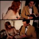 Florence Welch and Stuart Hammond - 454 x 437