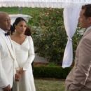 Chris (Rockmond Dunbar), Andrea (Sanaa Lathan) and William (Cole Hauser) in TYLER PERRY'S THE FAMILY THAT PREYS. Photo credit: Alfeo Dixon
