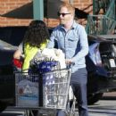 Tyler Ferguson does some solo grocery shopping at Whole Foods in West Hollywood, Calfiornia on January 5, 2015 - 454 x 590