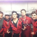 David Henrie had a guys' day out with his pals Gregg Sulkin and his Grown Ups 2 co-star Patrick Schwarzenegger