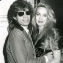 Mick Jagger & Jerry Hall in 1988