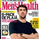 Michael Phelps - Men's Health Magazine Cover [Romania] (August 2012)