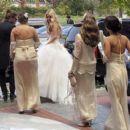 Aaron Paul and Lauren Parsekian Wedding Photos - 454 x 393