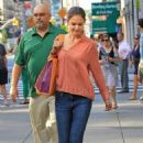 Katie Holmes: made a trip to Whole Foods in New York City