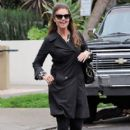 Patrick Schwarzenegger and his mother Maria Shriver are spotted out house hunting for Patrick in Hollywood, California on January 10, 2017 - 404 x 600