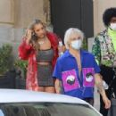 Bebe Rexha and Doja Cat – On the set for 'Baby I'm Jealous' song in Los Angeles