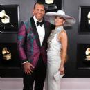 Jennifer Lopez and Alex Rodríguez : 61st Annual Grammy Awards