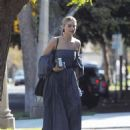 Margot Robbie in Long Dress out in Los Angeles - 454 x 598