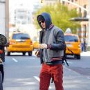 Andrew Garfield out in NYC (April 24)