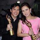 Franco Laurel and Ayen Munji-Laurel