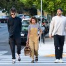 Ashley Tisdale and Christopher French – Out in Los Angeles
