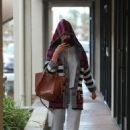 Alessandra Ambrosio – Arrives at a skincare spa in Los Angeles