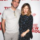 Rose Byrne: attending the opening night performance of The Whirligig in New York City