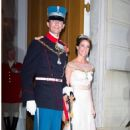 Prince Joachim and Marie Cavallier : New Year's reception 2015