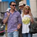 Tara Reid and Michael Axtmann